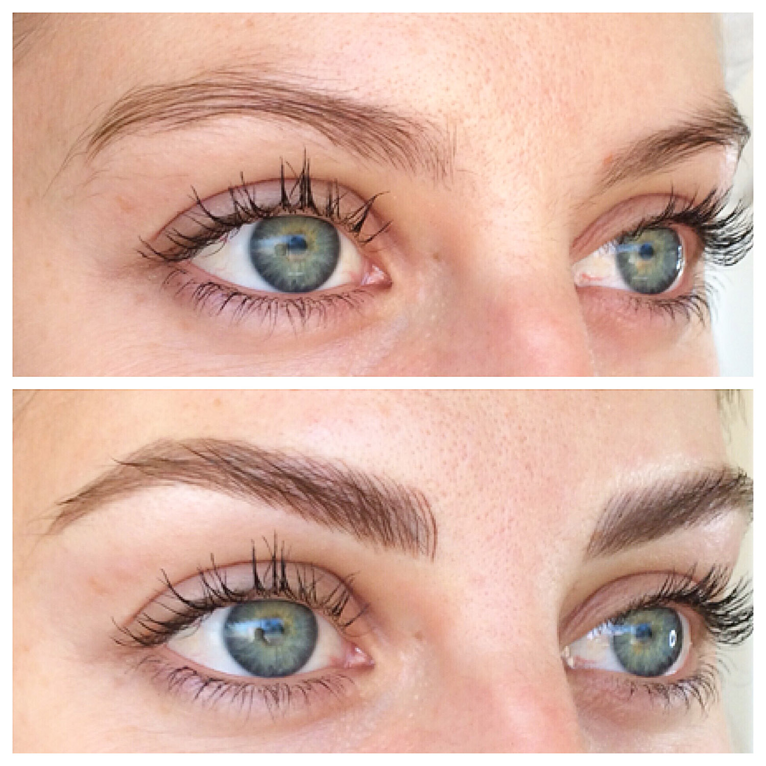 Eyebrow Tattoo Before And After: Perth Eyebrow Makeovers Brow Styling Images