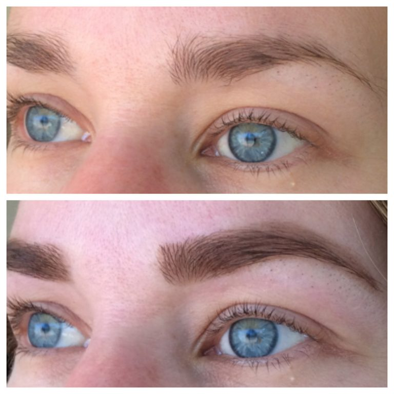 Eyebrows by Ainslie Perth Brow Makeover Before and After