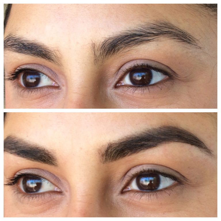 Eyebrows by Ainslie Perth Eyebrow Makeover Before and After